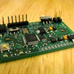 A fully populated SASSH PCB