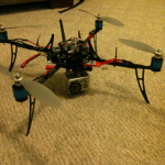 Full quadrotor with new frame
