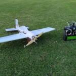 Foamie ready for flight!